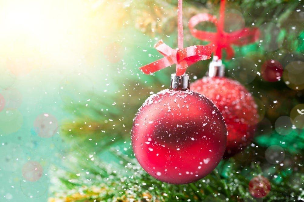 Julekugler med navn